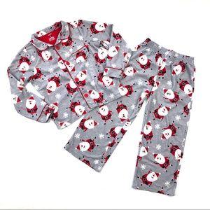 Carter's Christmas Santa holiday pajamas boy girl